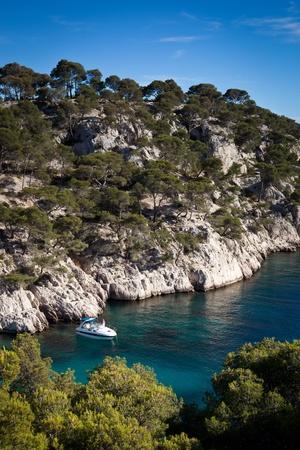 Splendid southern France coast (Calanques de Cassis), southern France photo