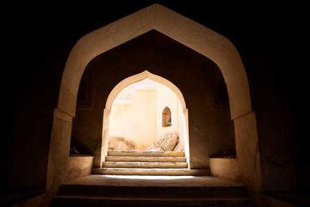 The Nakhl Fort in Al Batinah, Oman photo