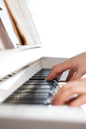 Playing Piano photo