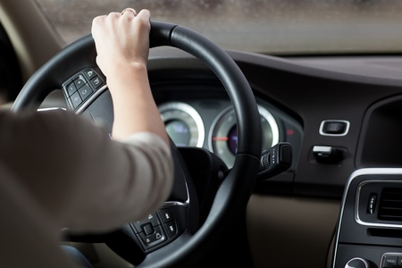 woman driving a car Stock Photo - 13445253
