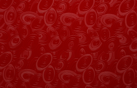 Red background with floral motif photo