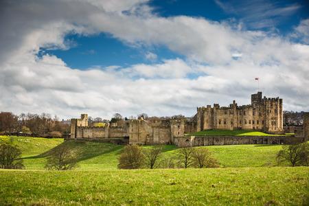 alfarero: Castillo de Alnwick, Northumberland - Inglaterra