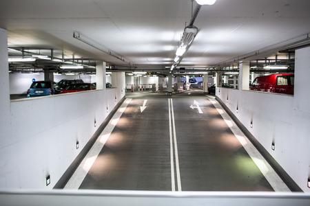 industry park: Underground parkinggarage