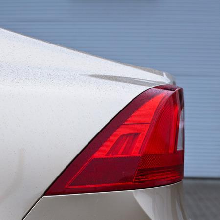 Modern car detail photo