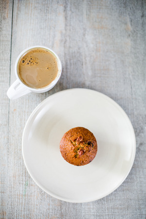 Morning coffee & muffin - Yummy! photo