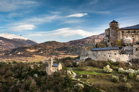 fortify: Sion, Switzerland - Valere castle Editorial