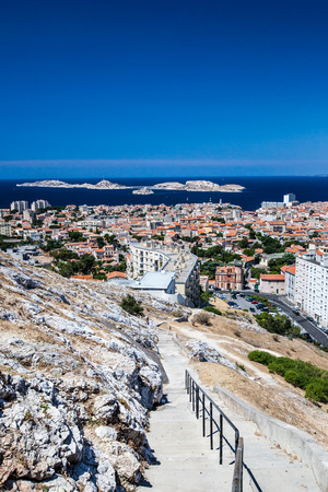 marseille: View of Marseille, southern France