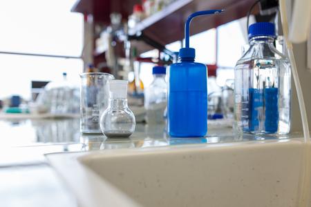 화학 실험실 스톡 콘텐츠