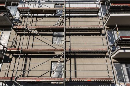 Wohngebäude Baustelle
