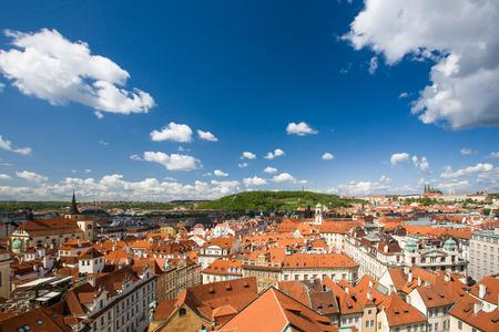 View of Prague, Czech republic Reklamní fotografie