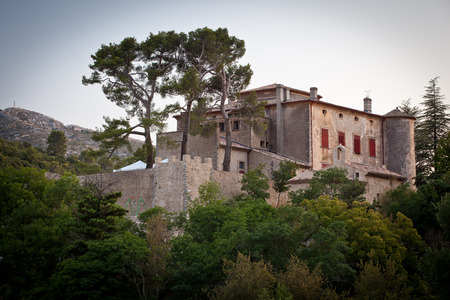 Chateau of Vauvenargues - Pablo Picassos residence in Provence, France Editorial