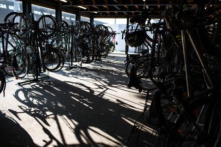 rental: Bike rental service Stock Photo