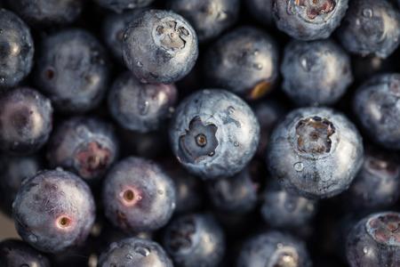 Fresh, ripe blueberries Imagens