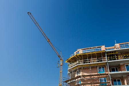 residential building construction site 版權商用圖片