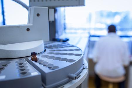 化学研究室(浅いDOF;色調画像) 写真素材