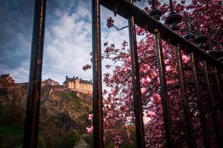 Edinburgh Castle, Edinburgh, Scotland UK Stock Photo
