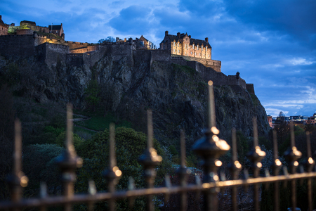 Edinburgh Castle, Edinburgh, Scotland UK Stock Photo