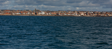 Anstruther fishing village on the east coast of Scotland Stock Photo