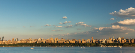 New York City - Manhattan seen from New Jersey Stock Photo