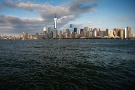 A view of Lower Manhattan from Liberty State Park