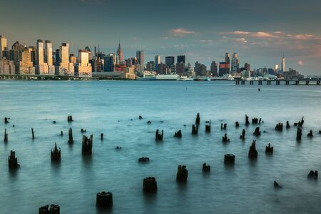 Lower Manhattan View from New Jersey