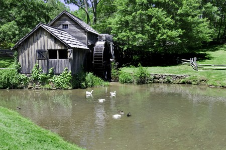 ridge: Historic Mabry Mill is a beautiful working watermill located in Floyd County Virginia, on the Blue Ridge Parkway.
