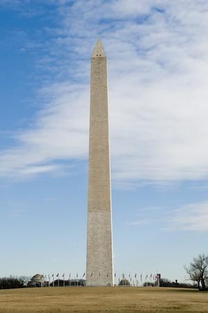 Washington Monument on a beautiful sunny day in Washingotn DC photo