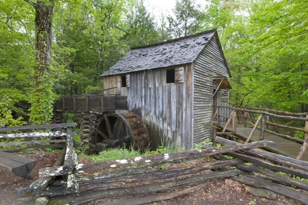 gristmill: Cable Mill, Cades Cove, Great Smoky Mountains National Park