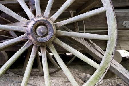 carreta madera: vag�n de rueda