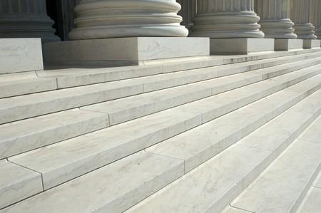 United States Supreme Court Steps Banque d'images
