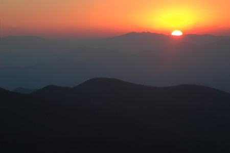 Sunset - Great Smoky Mountains National Park photo