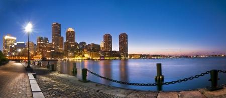 보스턴의 스카이 라인