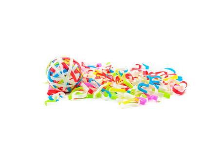rubberband: rubberband, multicolor