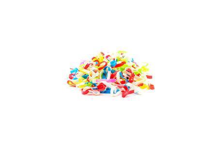 rubberband: Rubberband,multicolor Stock Photo