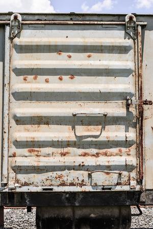 bogie: train door old bogie
