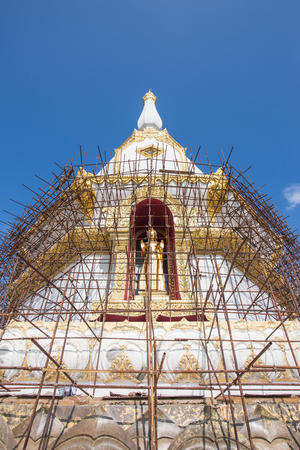 repaired: Thailand temple was repaired