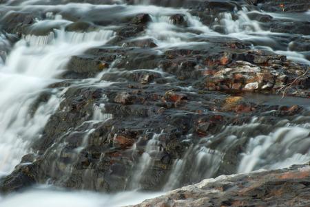 mountin: trickle water fall