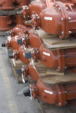 water valves Фото со стока