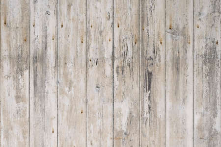 White rustic wood background. Vintage texture.