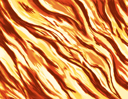 conflagration: abstract painting  illustration of a burning fire with wild flames