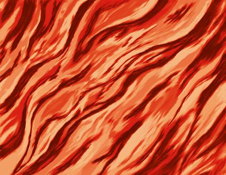 野生の炎で燃えている火の抽象絵画