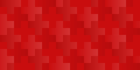 Vector seamless cross or plus pattern with changeable background color for the crosses.