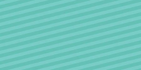 Seamless abstract vector diagonal stripe pattern in vintage turquoise color