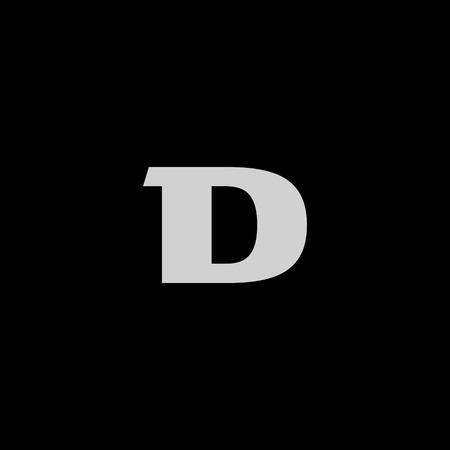 Luxury Bold Letter D