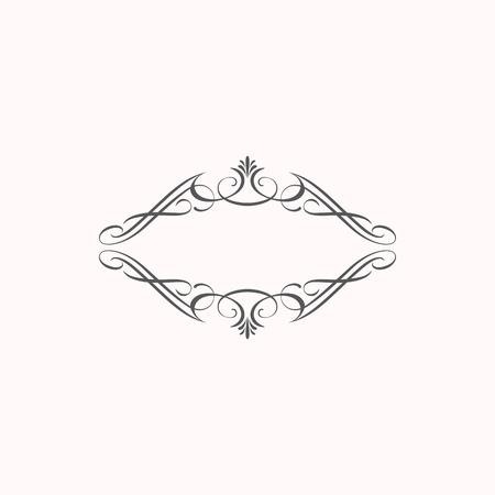 decorative elements border corner style classic elegant look and luxury feel Vector Illustration