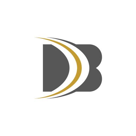 modern trendy B Letter unique Icon Design Logo