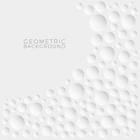 Abstrakter moderner geometrischer einfacher Hintergrund für alle Business-Beauty-Firmen mit luxuriösem High-End-Look Vektorgrafik