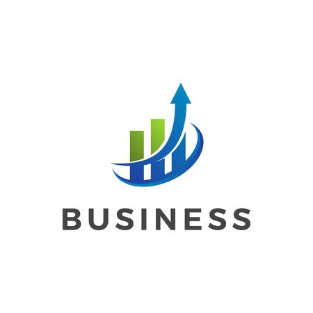 Modern Finance Business Logo