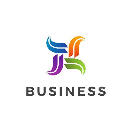 Modern Finance Business Logo