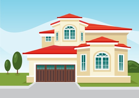House Illustration Vector